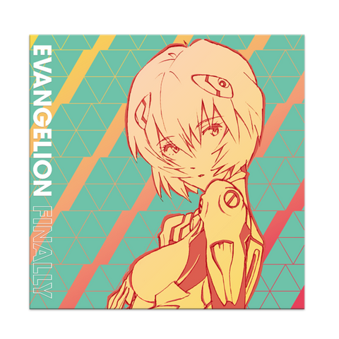 Evangelion Finally O.S.T. (Splatter Colored Vinyl)