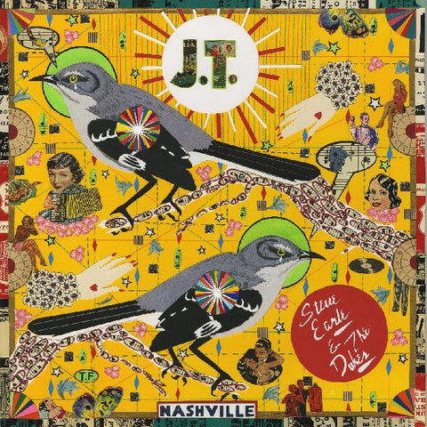 "Steve Earle & The Dukes ""J.T. (Colored Vinyl)"""