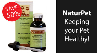 NaturPet All Natural Supplements