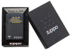 Zippo aansteker black game in open doos