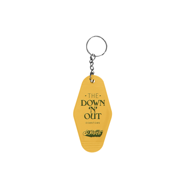 Down N' Out Key Chain