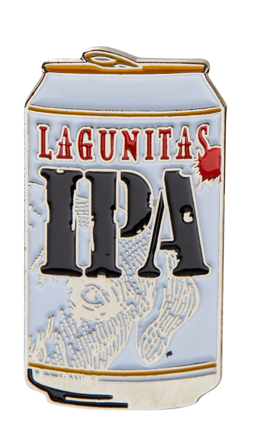 The timeless classic. Lagunitas IPA can enamel pin. A secret symbol in the a society of mumblers or a simple way to dress up any hat or jacket? Shhh. Beer Speaks. People Mumble.