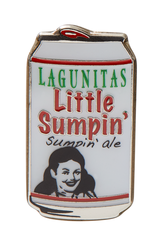 Sumpin' about this Little Sumpin' Sumpin' enamel pin that adds a little sumpin' special to any old thing or anything new.