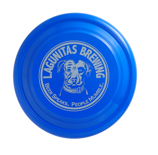 "Playin' catch or playin' fetch, the Lagunitas dog on this ""Beer Speaks. People Mumble."" disk is always ready for a throw."