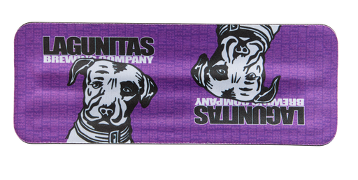 Slap on, drink up, stay cool. Lagunitas SlapWraps are not only fun to slap on your beer (or your wrist) but they store flat so they don't take up much room. Whoa.