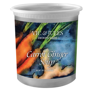 Vic & Jules Carrot Ginger Soup