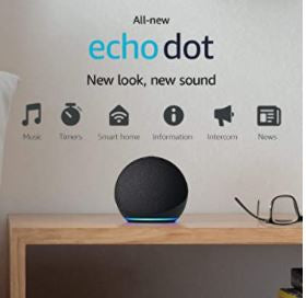 Echo Dot 4th Gen-AIVI-X
