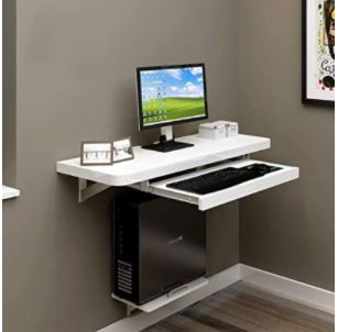 Floating Laptop Computer Desk