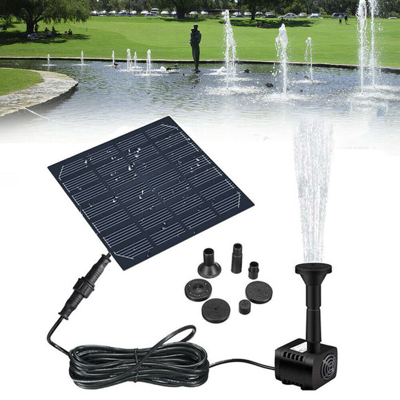 Solar Panel Powered Garden Water Sprinkler-AIVI-X
