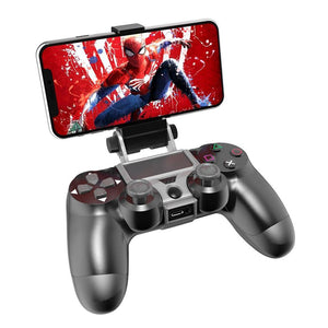 Handgrip-Stand Clamp Mount Bracket Gamepad Controller for PS4 - AIVI-X