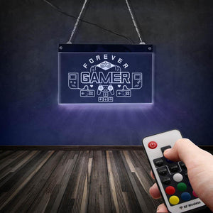 Forever Gamers Neon Sign - AIVI-X