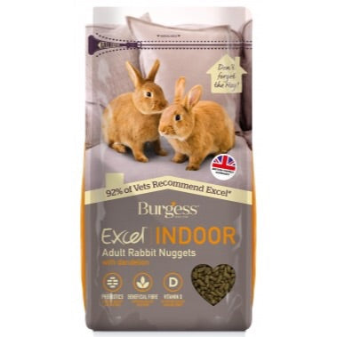 Burgess Excel Rabbit Indoor 1,5kg