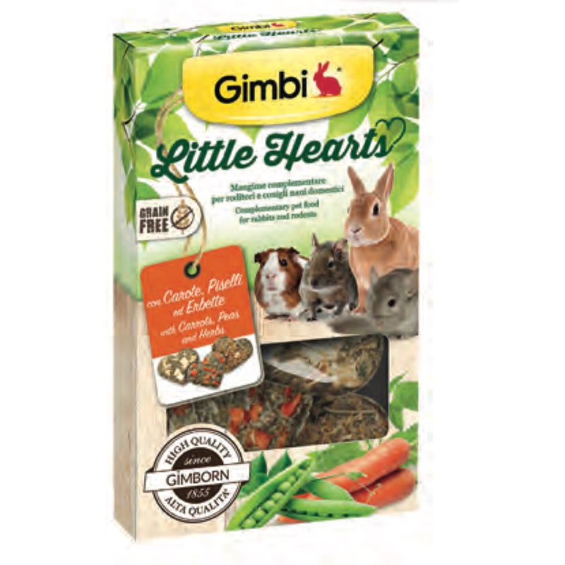 Gimbi Little Hearts 115 gr
