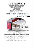 Ordination Study Guide