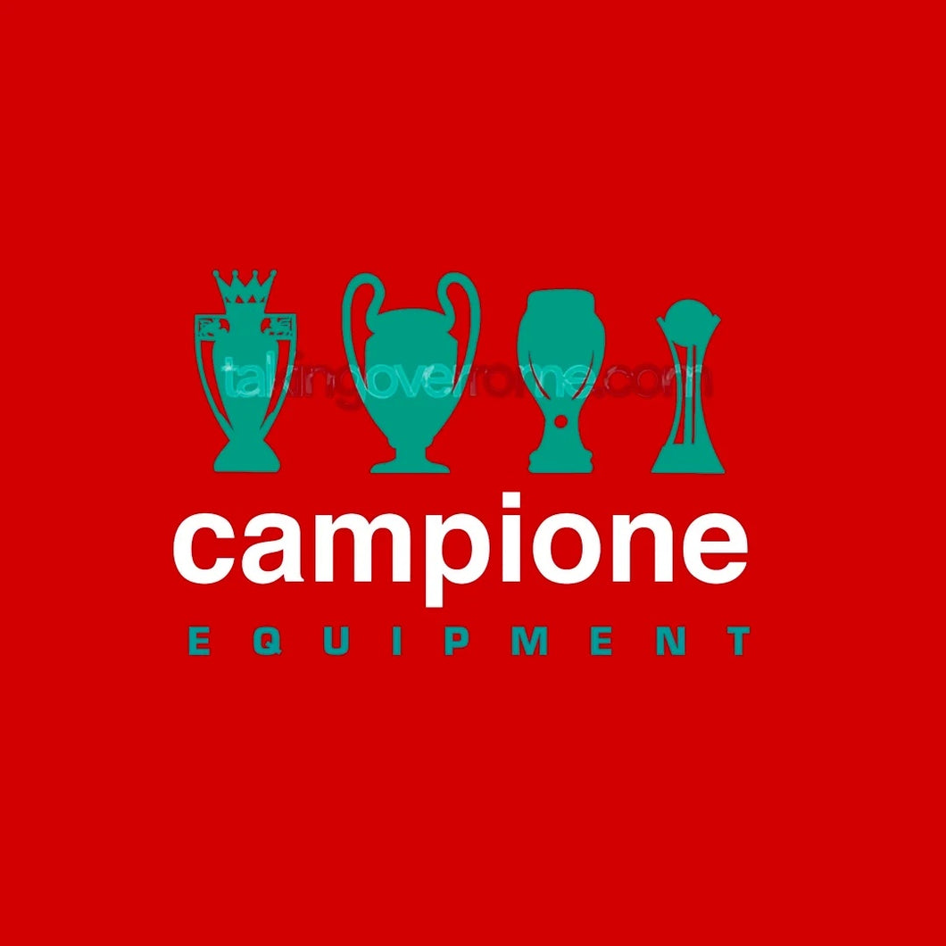 Campione Equipment Red T-shirt