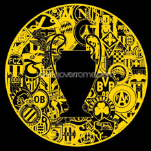 Load image into Gallery viewer, Bring On Yer Internazionale Dortmund Black and Yellow