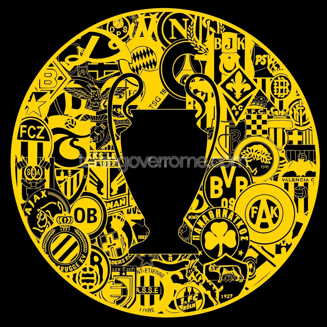 Bring On Yer Internazionale Dortmund Black and Yellow