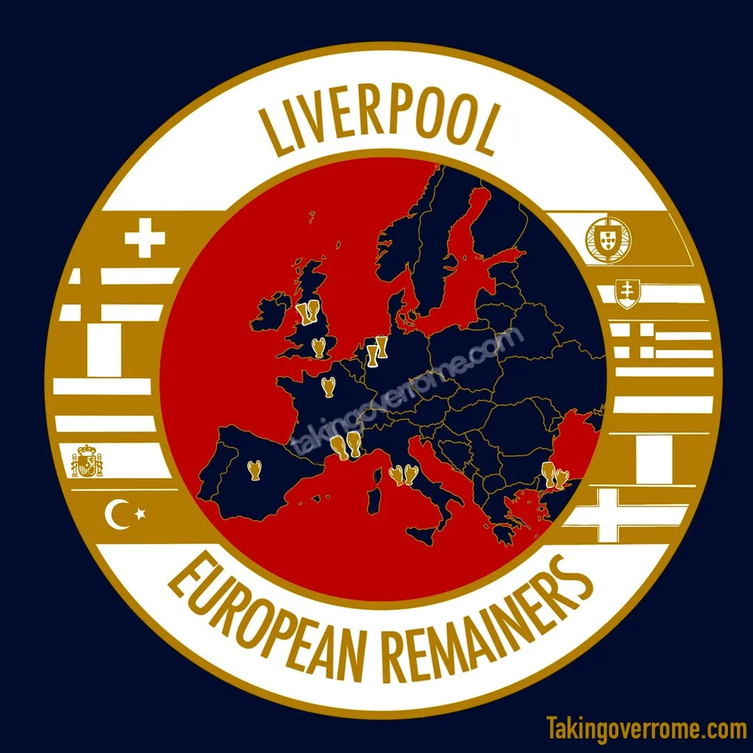 Liverpool European Remainers Navy T-shirt