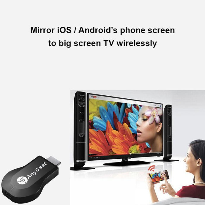 Anycast M9 Plus - Wireless Screen Mirroring Dongle - Happiness Idea