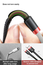 Load image into Gallery viewer, Baseus Premium Nylon Braided Lightning Cable (for iPhone) - Happiness Idea