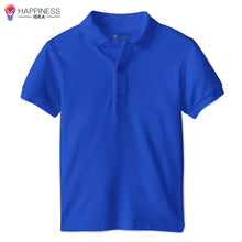 Load image into Gallery viewer, Men's Regular-fit Premium Cotton Polo Shirt - Happiness Idea
