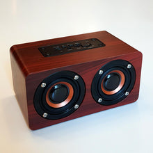Load image into Gallery viewer, Retro Wooden Design Bluetooth Speaker