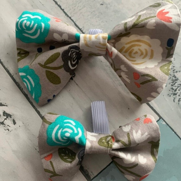 071-01 Collar Bow Ties - Rags by Raisin & Mags