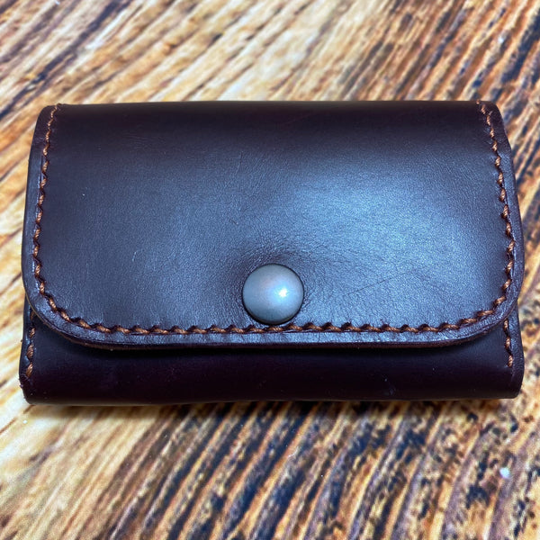 052-03 Leather Compact Wallets - Harris Leather