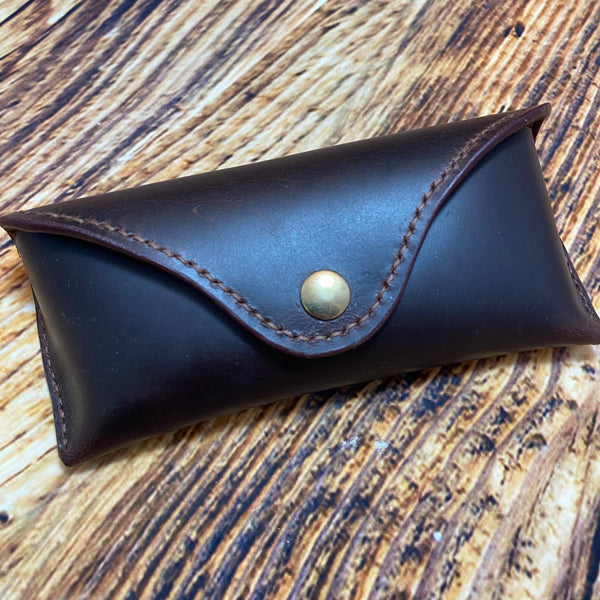 052-08 Leather Glasses Case - Harris Leather