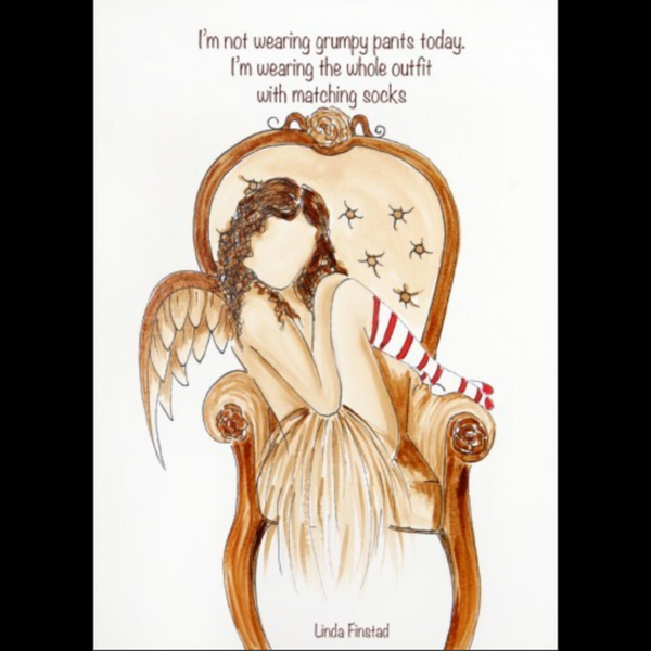 045-20 Angels with Attitude Cards - Art by Linda Finstad