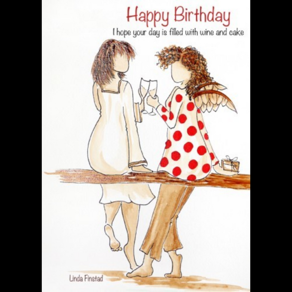 045-23 Birthday Cards - Art by Linda Finstad