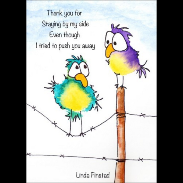 045-25 Gratitude Cards - Art by Linda Finstad