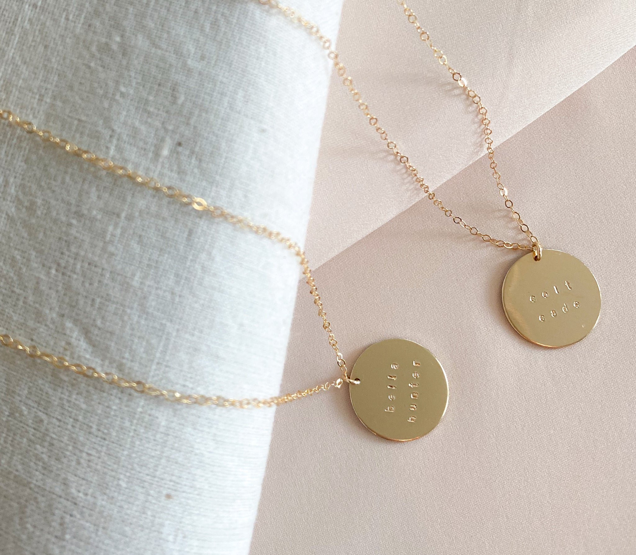 Personalized Hand Stamped Jewelry