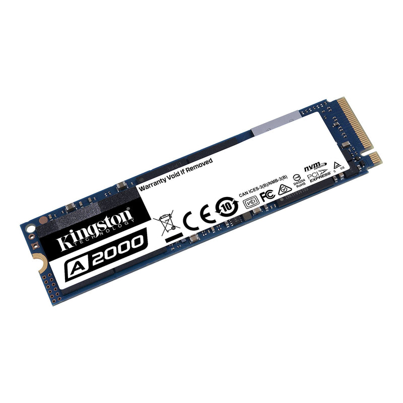 Kingston A2000 250GB M.2 (2280) PCIe NVMe SSD