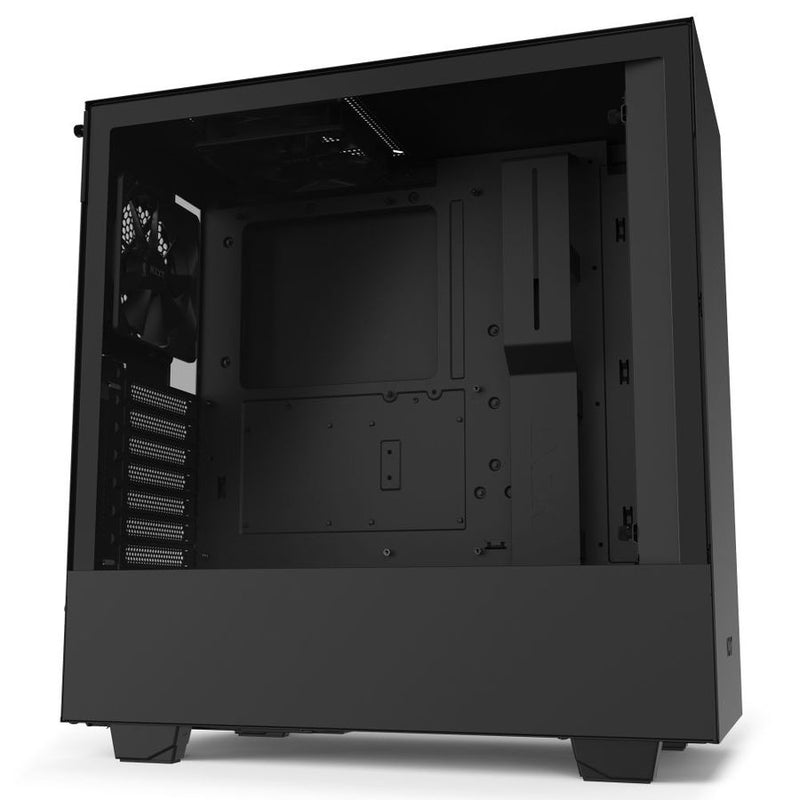 NZXT H510 Tempered Glass Mid-Tower ATX Case - Matte Black