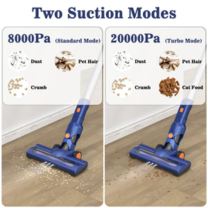 2 Suction Modes