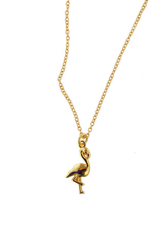 Baby Flamingo - gold