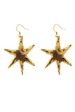 Orion star earrings - gold
