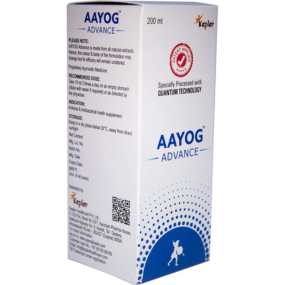 AAYOG ADVANCE - FOR THE MANAGEMENT OF CURRENT PANDEMIC - Ktein Cosmetics - Essence Of Natural Hair Care Products