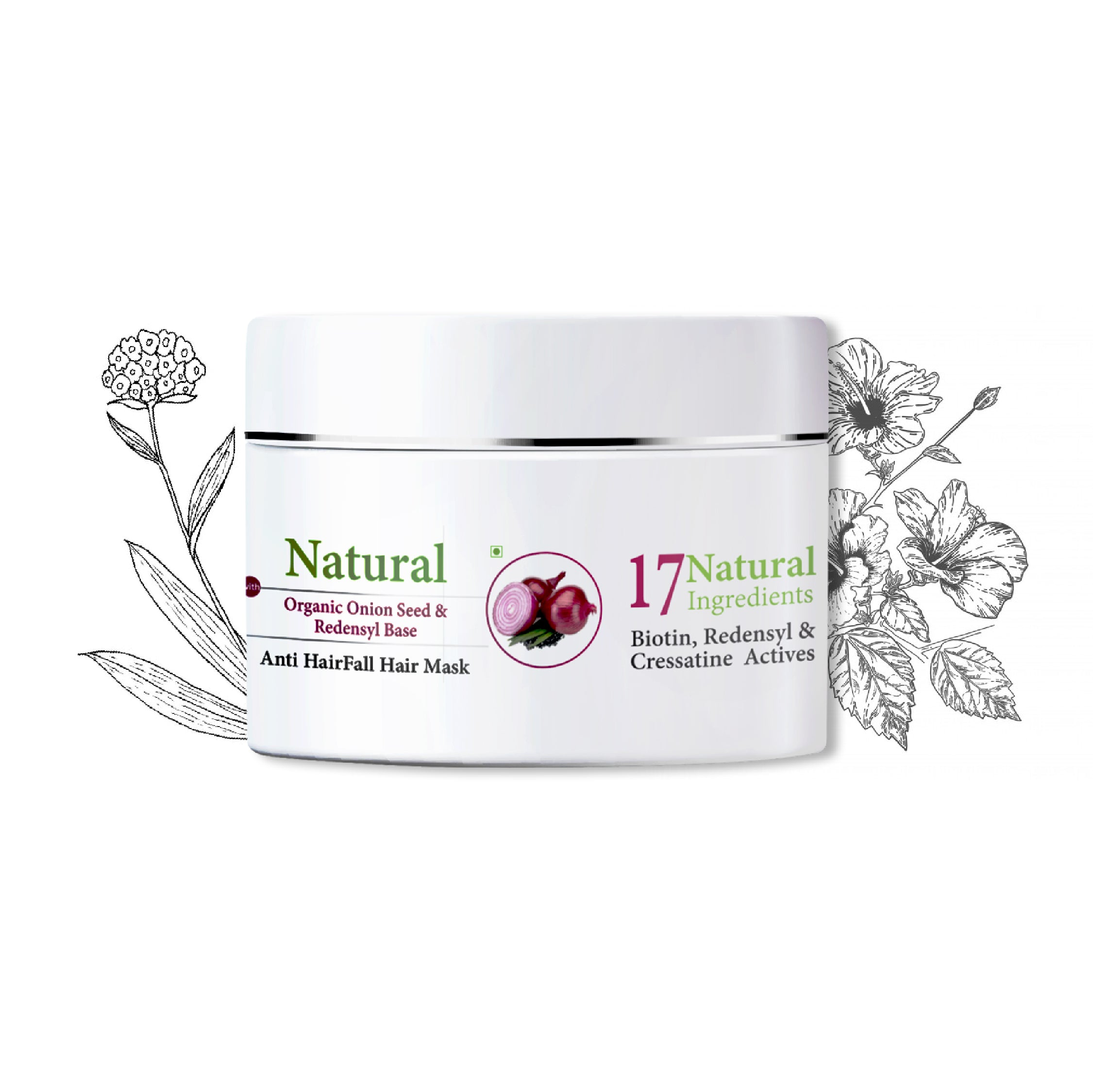 Ktein Hair fall Defence mask (100 gm) - Ktein Cosmetics - Essence Of Natural Hair Care Products