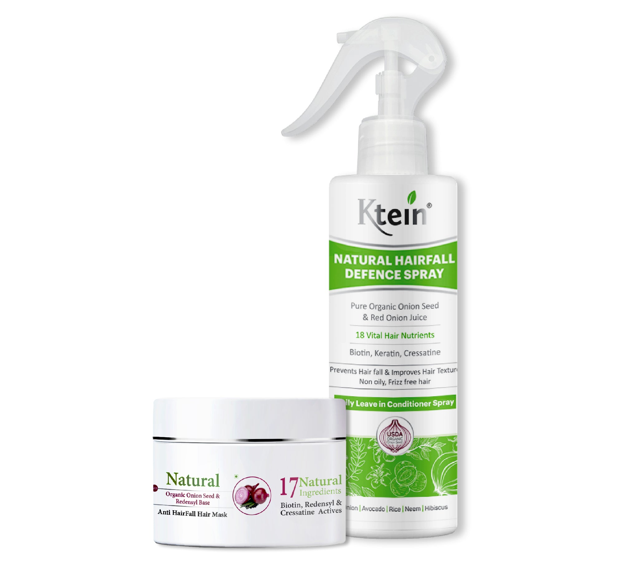 Ktein Hairfall Combo - Ktein Cosmetics - Essencec Of Natural Hair Care Product