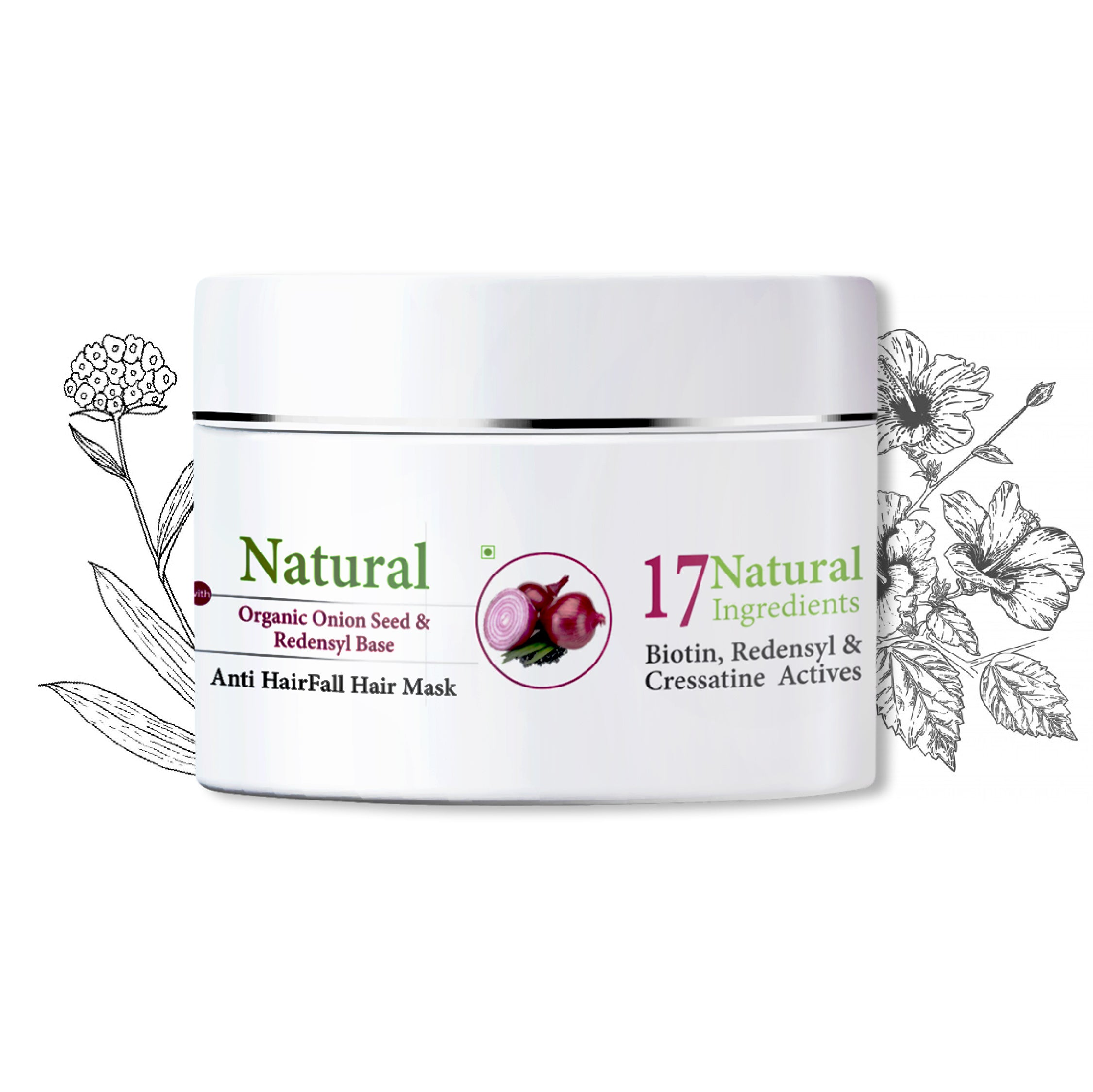 Ktein Hair fall Defence mask (200 gm) - Ktein Cosmetics - Essence Of Natural Hair Care Products
