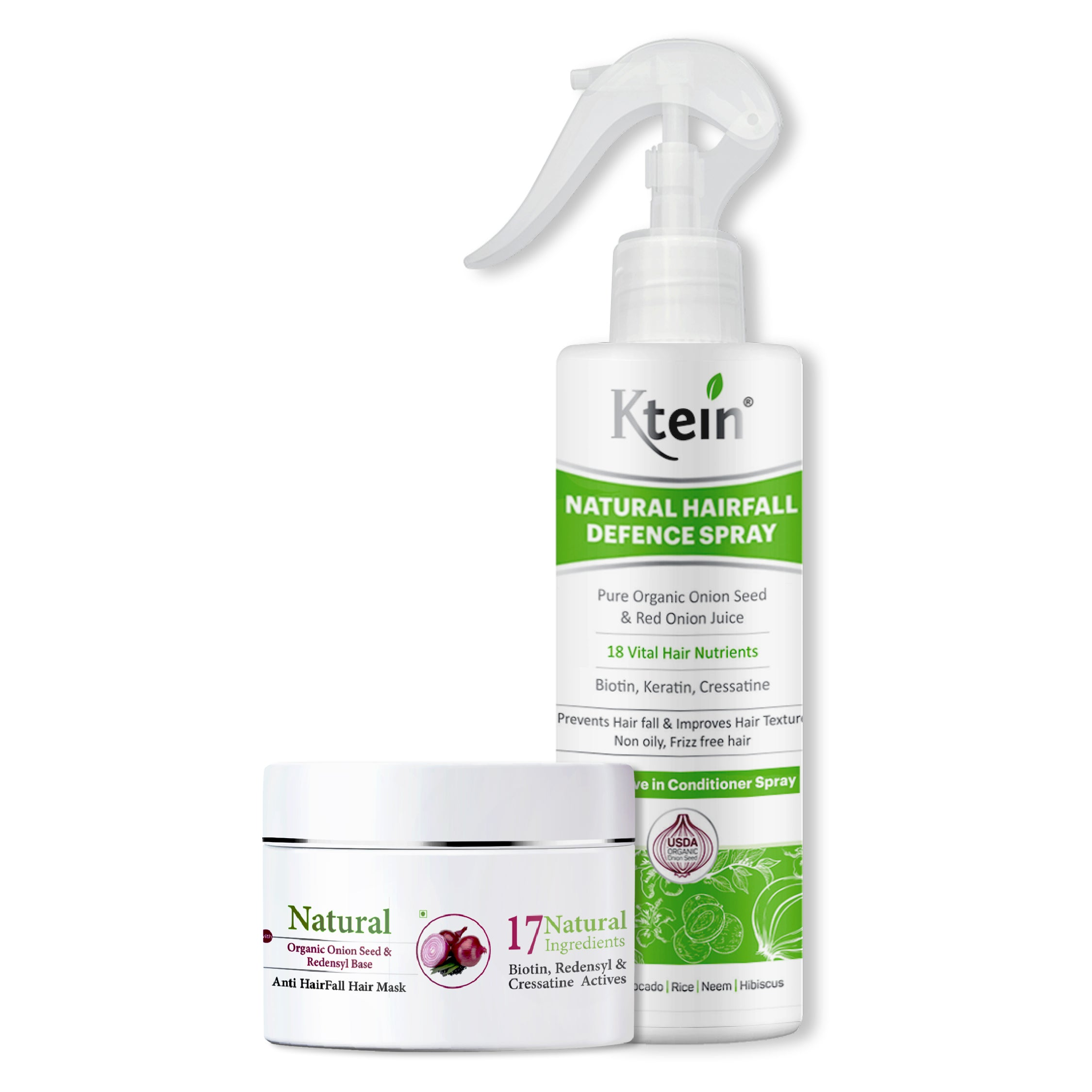 Ktein Hairfall Combo - Ktein Cosmetics - Essence Of Natural Hair Care Products