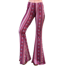 Load image into Gallery viewer, Flare Bell Bottoms - Berry