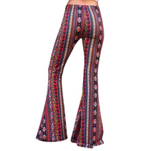 Load image into Gallery viewer, Flare Bell Bottoms - Red/Yellow