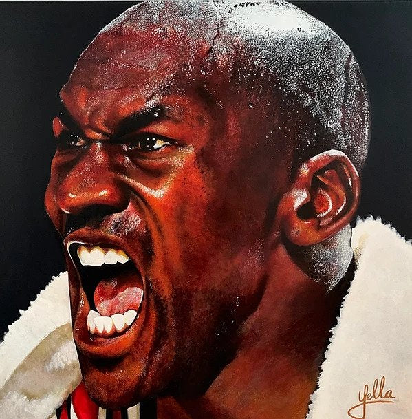 HIS AIRNESS Limited Edition Print