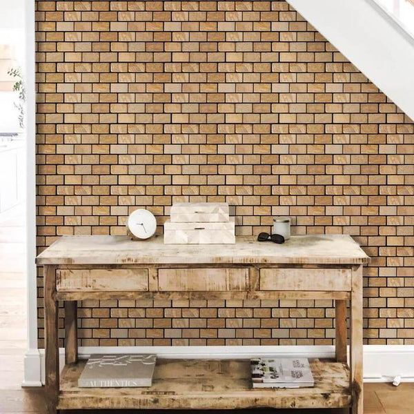 3D_Classical_Yellow_Brick_Peel_and_Stick_Wall_Tile