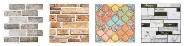 Commomy Decor 3D peel and stick wall tile patterns