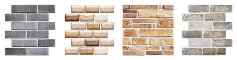 Commomy Decor 3D peel and stick wall tile more patterns