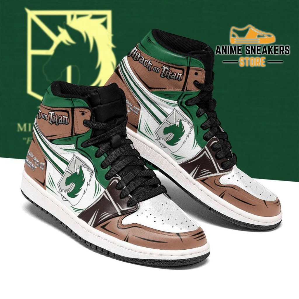 Military Police Sneakers Attack On Titan Anime Sneakers